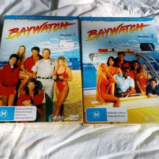 Unopened BAYWATCH Collectors Editions Box Set Season's 1 & 2