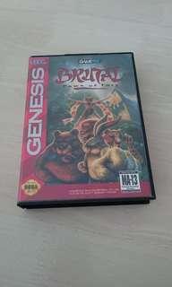 Sega Genesis Brutal Paws of Fury