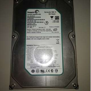 "Seagate 500GB 3.5"" Internal HDD (SATA)"