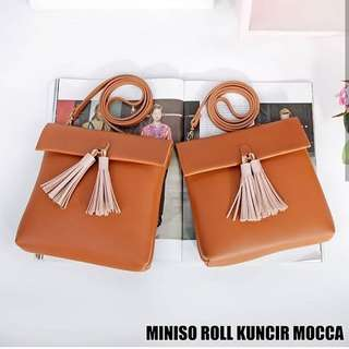 Miniso Sling Roll Mocca, Ice blue
