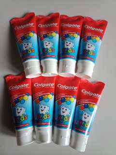 Colgate for Kids Mild Bubble Flavor