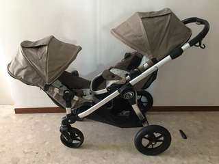 baby jogger city select Double双人婴儿推车