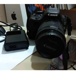 Canon EOS 100D - Lens 18-55 mm - Condition 100% like New - Tiptop !! RM1280