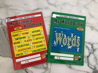 My Grammar Book and My Word Bank