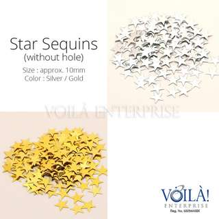 Star Sequins / Confetti