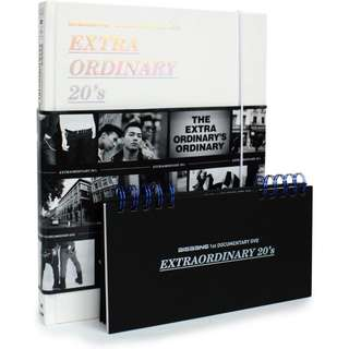 [低價出讓] <日版絕版, 連月曆> Big Bang - 1st DOCUMENTARY DVD - Extraordinary 20's (Limited Edition) (DVD+Photobook)