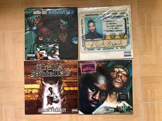 Classic & RARE HIP-HOP VINYL RECORDS LP
