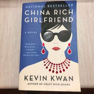 🚚 China Rich Girlfriend by Kevin Kwan