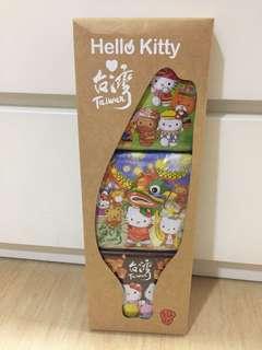 Hello kitty 台灣風萬用鐵盒組 (特別版)