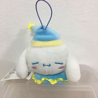 (Sleeping Series) Cinnamonroll Keychain Plush Toy