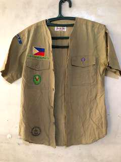 Boy and Girl scout clothing and accessories for children