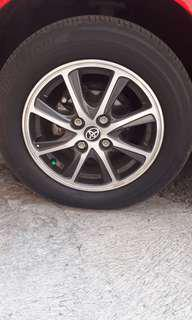 Velg calya ring 14 plus ban