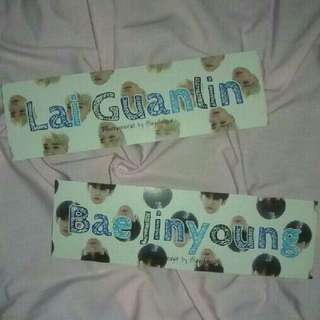 Hand Banner Kpop / Custom