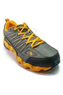 361 Degrees Outdoor Trail Shoes for Women (Yellow/Grey)