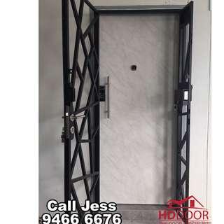 HDDoor the Laminate door and mild steel gate with digital lock