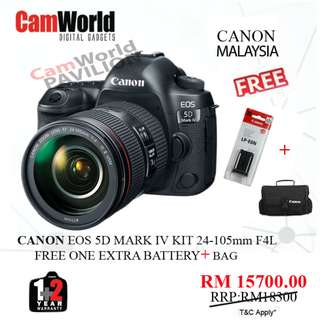 CANON 5D MARK IV KIT 24-105MM F4L
