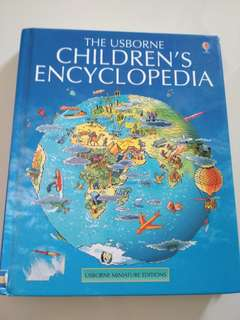 Children's Usborne Mini Encyclopedia (Preschool to Lower Pri)