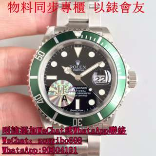 JF厰 勞力士 Watch Submariner 16610 LV 面交