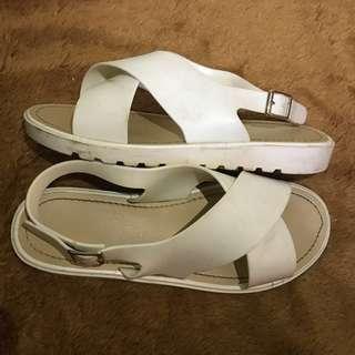 Sandal Vincci white
