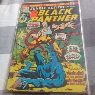 Jungle Action featuring Black Panther no. 7