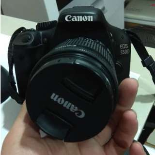 Canon Eos 550D - Condition Tiptop 100% Like New - Lens 18-55mm - Rm788
