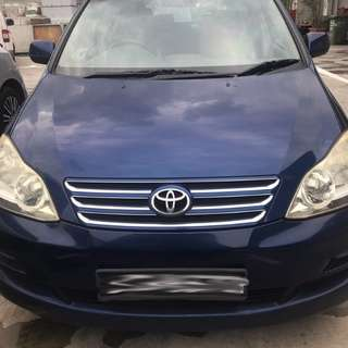 Toyota Picnic Auto for rental ( 7 seater )