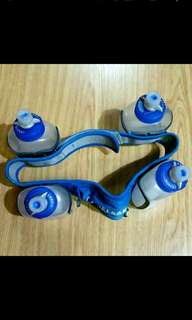 camelbak grenades water bottles and belt