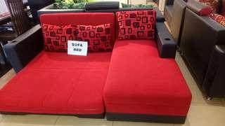 Soffa L bed
