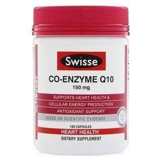 Swisse Co-Enzyme 輔酶 Q10 150 mg, 180 Capsules
