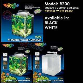 Rainbow R200 fish tank without stand