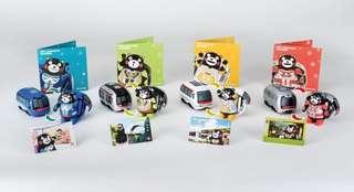 MTR 熊本熊車票套裝