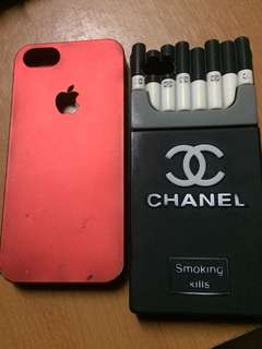 Channel Smoking Case / Apple Red Case /Ip5s/5