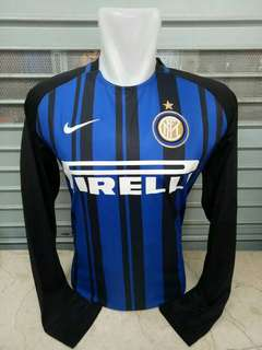 JERSEY INTER MILAN HOME LONG SLEEVE 2017/2018 GRADE ORI