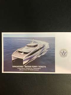 Singapore - Batam Ferry Tickets