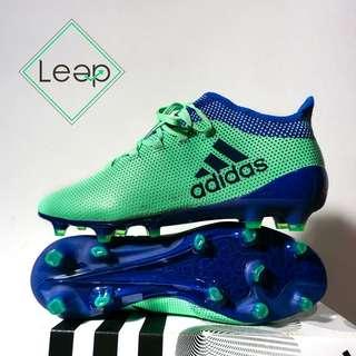 Sepatu Bola Adidas X17 Green Blue
