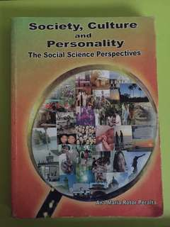 Society, Culture and Personality: The Social Science Perspectives