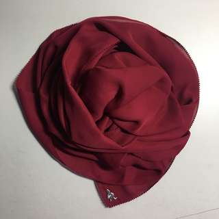 Duck Georgette in Cranberry
