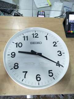 Used Seiko Wall Clock for sale @$15 Each (120 Pcs)