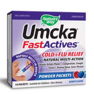 Umcka® Cold+Flu FastActives® (Berry)