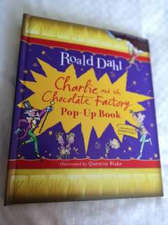 Charlie and the Chocolate Factory Pop Up book