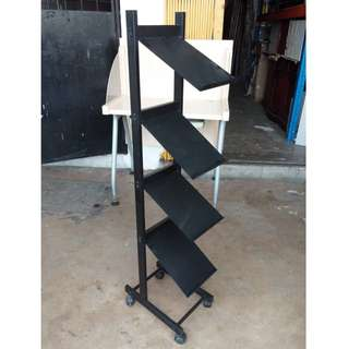Steel Brochure Rack