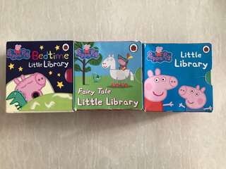 Peppa Pig- Little Library