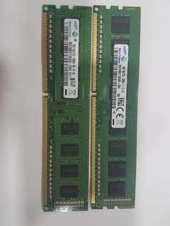 三星 DDR 3 4G & 2G RAM