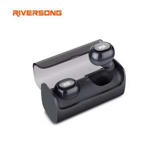 (471) Riversong AirX 2 Mini Bluetooth 4.1 Earphone Headphone Twins True Wireless Earphone Earbuds In-Ear Invisible Earpieces Airpods