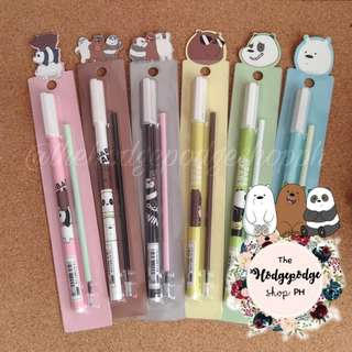 We Bare Bears Gel Pen with Extra Ink