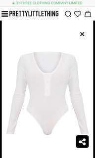 BNWT Ribbed Long Sleeve Bodysuit