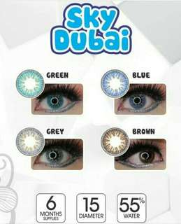 Softlens sky dubai grey