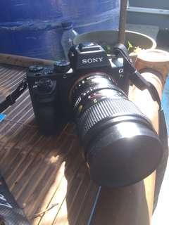 Sony a7II + 100mm Topcon bisa TT Nikon D750 wifi