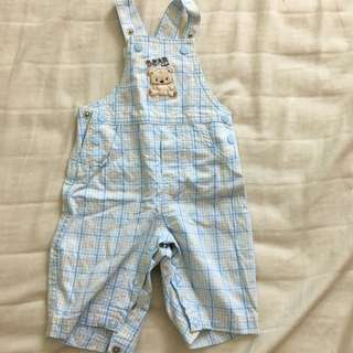 Newborn jumpsuit for baby boy