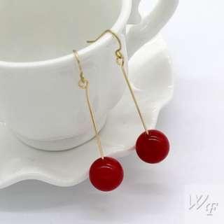Japan and South Korea style stone earrings FE679
